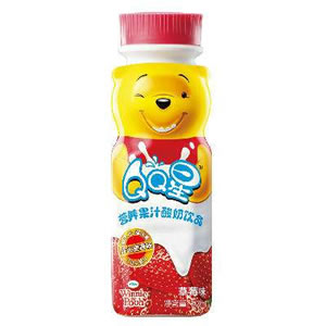 QQ星营养果汁酸奶